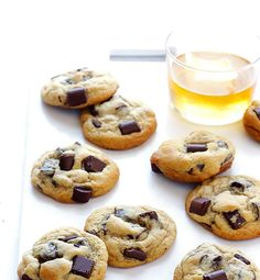 Bourbon Chocolate Chip Cookies from Gimme Some Oven