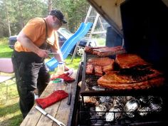 Ribbe på grillen ~ Redneck BBQ Beef, Food, Ribe, Meat, Essen, Meals, Yemek, Eten, Steak