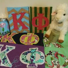 Kappa Phi crafts and Big/Little ideas