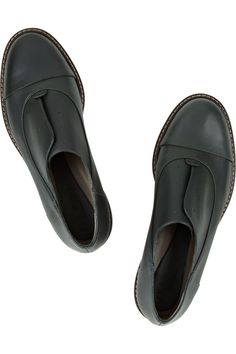 Marni Leather brogues, so simple and classy. i would love to style something ilke this, very chic.