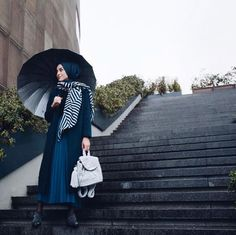 instagram stilleri moda Islamic Fashion, Muslim Fashion, Modest Fashion, Fashion Outfits, Hijab Style, Hijab Chic, Casual Hijab Outfit, Hijab Dress, Muslim Girls