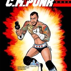 Gi Joe CM Punk