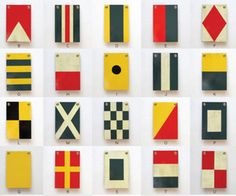 nautical flags.