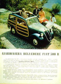 1949 Fiat 500-B Giardiniera Belvedere
