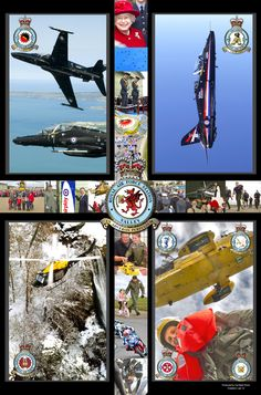 A collage of RAF Valley, Anglesey, Wales