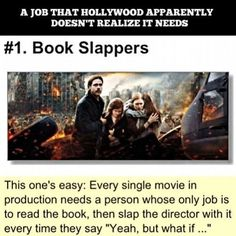 Book slappers need Ps : Percy Jackson movies