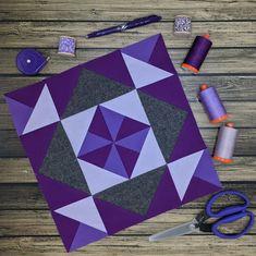 Aurifil Designer of the Month October - Sherry Shish – Centered Pinwheel October, Quilt Blocks, Quilts, Pattern Blocks, Pinwheels, My Love, Projects, Design, Inspiration