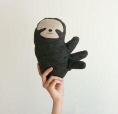 Plush Sloth Doll