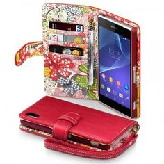 Hey, I found this really awesome Etsy listing at https://www.etsy.com/listing/187913397/red-pu-leather-case-for-sony-xperia-z2