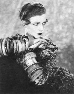 and another wonderful woman from the 20s-the admirably brave and radical,highly artistic and extravagant nancy cunard,whose life should become a tragedy.something that happened to a lot of people who helped to make the 20s such a memorable and breathless decade... 1926