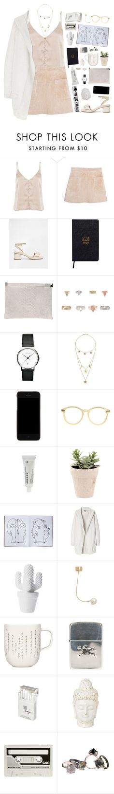 """""""My face lights up when I see you"""" by bomlion ❤ liked on Polyvore featuring MANGO, ASOS, Nomadic, Maison Margiela, Georg Jensen, Made, Dolce&Gabbana, American Apparel, Korres and Assouline Publishing"""