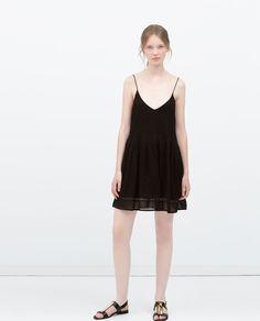 LACE DETAIL DRESS-Dresses-WOMAN-SALE   ZARA United States