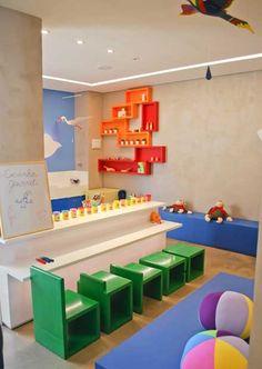 Brinquedoteca, ambiente da OCA - Oficina de Criação e Arquitetura