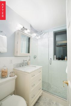 Before & After: An Upper East Side Bathroom Transformation | Apartment Therapy