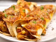 Zöldséges enchilada recept