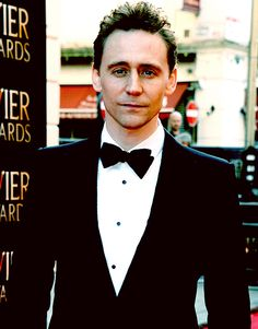 Tom Hiddleston at The Sir Laurence Olivier Awards, London, April 13, 2014.