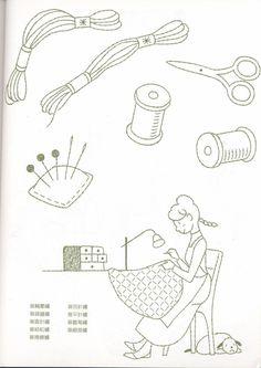 [Reservado] 0358 Chinês (Noriko Takano. Meu primeiro livro costurado à mão) a aprendizagem livro ferrugem espinho bordado Mole _ _ Sina blogue