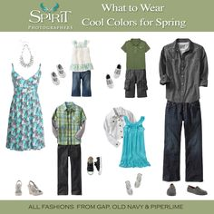 What to Wear--- Blues and Greens #2