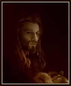 Another painting of Fili.... Yeah.... I did this one too........-smiles nervously- ~Kili