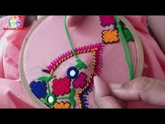 Flower Embroidery Designs, Embroidery Dress, Beautiful Dress Designs, Diy Crafts To Do, Easy Stitch, Folk Costume, Phone Wallpapers, Elegant Dresses, Stitches