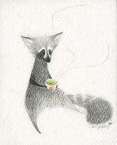 Jennifer Chang  Watercolour and Pencil
