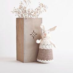 Bunny Rabbit handmade Home Decor Child s Room by JuliaWine on Etsy 6982aa863c0a