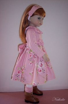 """Nathalie"" ~ Tenue Pour Poupée 'Maru & Friends' (Outfit for 'Maru & Friends' dolls)"