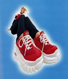 Skechers, American Vogue, May 1998.