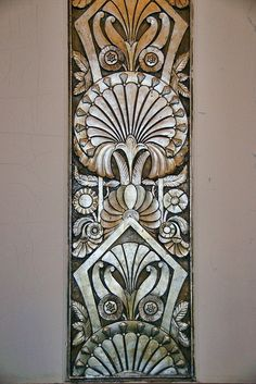 art deco architecture | Architecture & Details: Art Deco and Nouveau / Art Deco ornament in ...