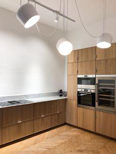 Kitchen Ikea, Barn Kitchen, Kitchen Handles, Wooden Kitchen, Kitchen Furniture, Kitchen Interior, Kitchen Decor, Küchen Design, Layout Design