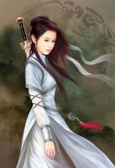 WOMAN WARRIORS - Women warriors are common in Chinese folklore. Hua Mulan is probably the most well-known of the lot, but there are more.