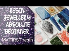 RESIN JEWELLERY for beginners *First time trying resin* - YouTube