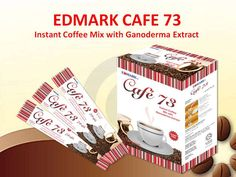 Edmark's Cafe 73 (Instant Coffee Mix with Garnoderma Extract) coming soon. If you want to own a franchise or partner with  us in this business just give me a call or let's chat: +233268123621 https://www.facebook.com/RobertAppiahGlobal
