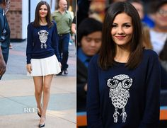 Victoria Justice In French Connection – 'Extra'