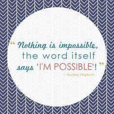 I'm Possible :: Audrey Hepburn