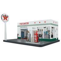 Texaco Gas Station Display - The Danbury Mint