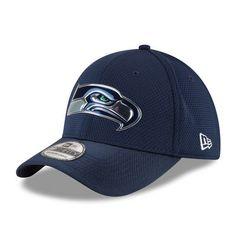 15f7f95de New Era Seattle Seahawks Navy Kickoff Baycik Reverse 39THIRTY Flex Hat  Seattle Seahawks Hat
