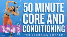 50 Minute HIIT Core and Cardio Workout 🔥Burn 480 Calories! Interval Training Workouts, Dumbbell Workout, Workout Routines, Tabata Workouts, Boxing Workout, High Intensity Cardio, High Intensity Interval Training, Intense Leg Workout, Workout Exercises