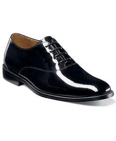 Florsheim Kingston Patent Leather Plain Toe Oxfords