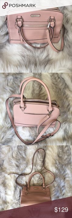 Dana Buchman pink crossbody bag Dana Buchman pink crossbody bag .......super cute Dana Buchman Bags Crossbody Bags