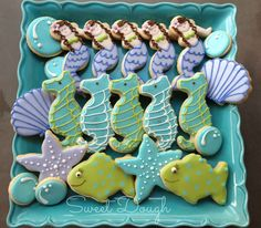 centerpiece+under+sea+party | mermaid and under the sea collection filed under birthday cookies