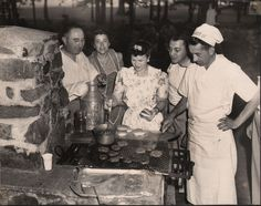 Happy Memorial Day Weekend. Happy National Hamburger Day!   https://flic.kr/p/6cgsKz  L to R: Fanchen Hartman Title, Abraham Shapiro  Collection of The Jewish Historical Society of Greater Hartford
