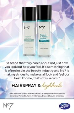 We want you to always look and feel your best. See what blogger, @angejim0531 has to say about our No7 Protect & Perfect Intense Advanced Serum.
