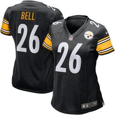 NFL Le'Veon Bell Pittsburgh Steelers Nike Women's Game Jersey - Black