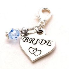 Only & free UK delivery Something Blue Bridal, Heart Charm, Wedding Day, Take That, Charmed, Boutique, Bride, Personalized Items, Free Uk