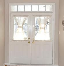 Sheer curtains on the front door just enough to add some privacy but still let  sc 1 st  Pinterest & DIY by MRC: Entryway upgrade: Front door curtains | DIY ... pezcame.com