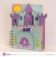 Creating A Children's Birthday Scrapbook – Scrapbooking Fun! Scrapbook Bebe, Birthday Scrapbook, Mini Scrapbook Albums, Disney Scrapbook, Diy And Crafts, Crafts For Kids, Paper Crafts, Mini Albums Scrap, Baby Album
