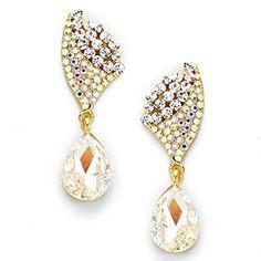 Elegant Clear Ab Rhinestone Crystal Regal Gold Earrings Evening Affordable Wedding Jewelry Bridal Affordable Wedding Jewelry http://www.amazon.com/dp/B019EHSOI4/ref=cm_sw_r_pi_dp_hKlXwb0YN3NAP