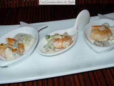 Crevettes marinées à la Thaïlandaise