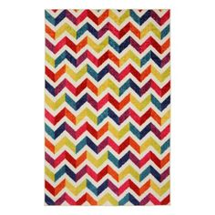 Mohawk Home Strata Multi Mixed Chevrons Pricm Rug 5 x 8 Nylons, Chevron Area Rugs, Target Rug, Chevrons, Mohawk Home, Zig Zag Pattern, Chevron Patterns, Contemporary Area Rugs, Modern Rugs